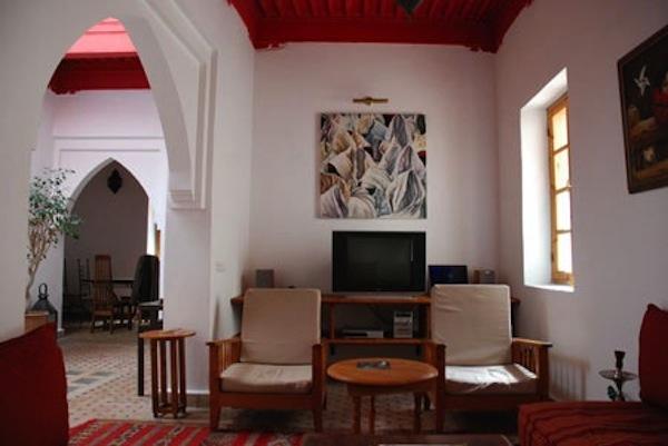 Riad dans la Medina avec une belle vue de la terrasse