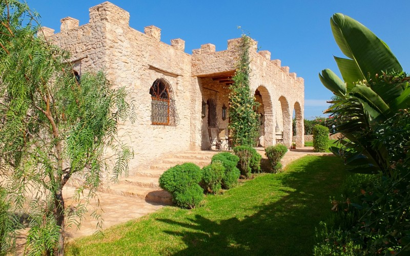 villa a la compagne d'Essaouira