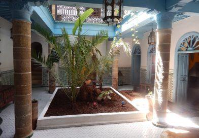 Authentique Riad avec jardin en location dans la medina d'Essaouira
