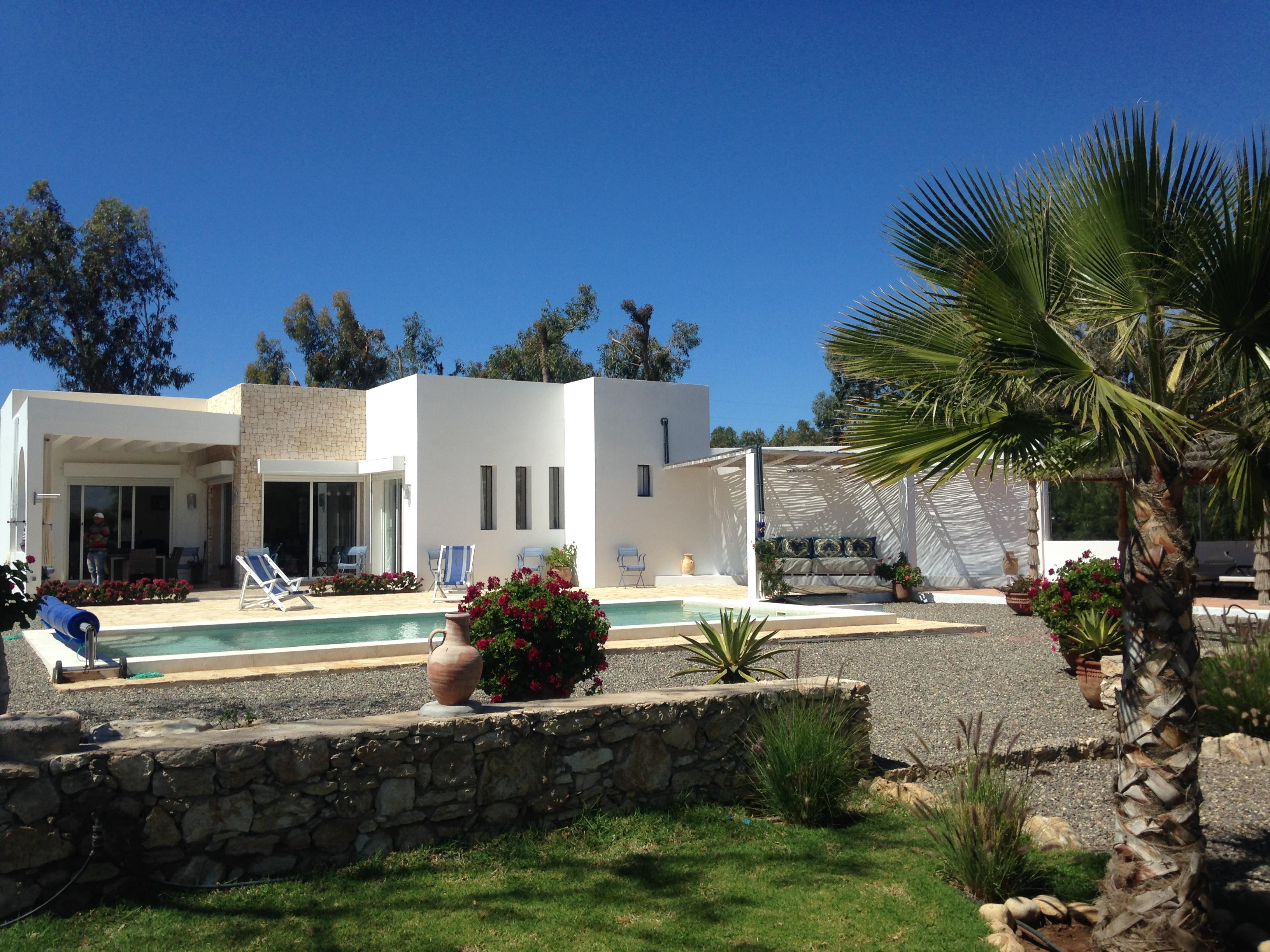 Villa en location avec piscine priv e karimo immobilier - Location villa piscine essaouira ...