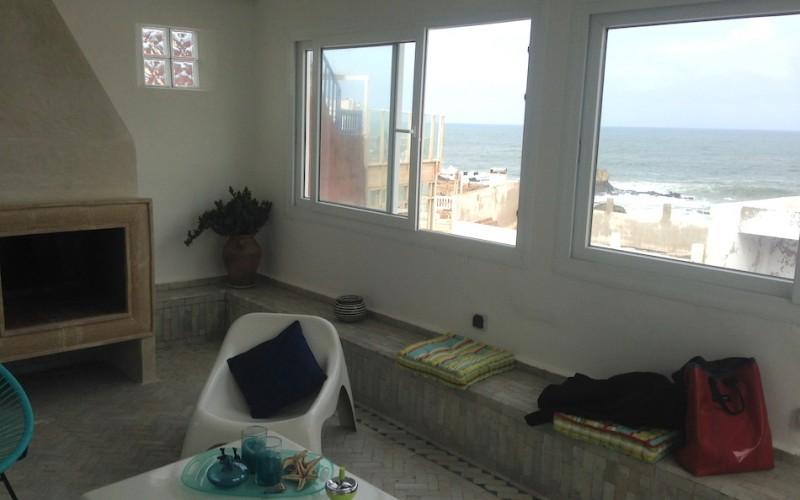 Riad à Essaouira avec vue mer