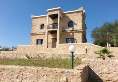 Villa en pierre avec piscine a la campagne d'Essaouira