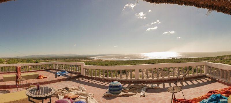 Maison en location avec vue panoramique sur mer