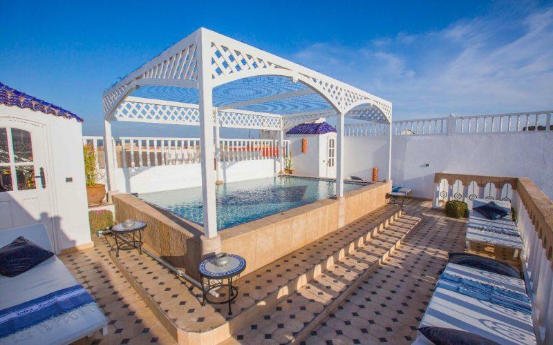 Riad en location avec piscine