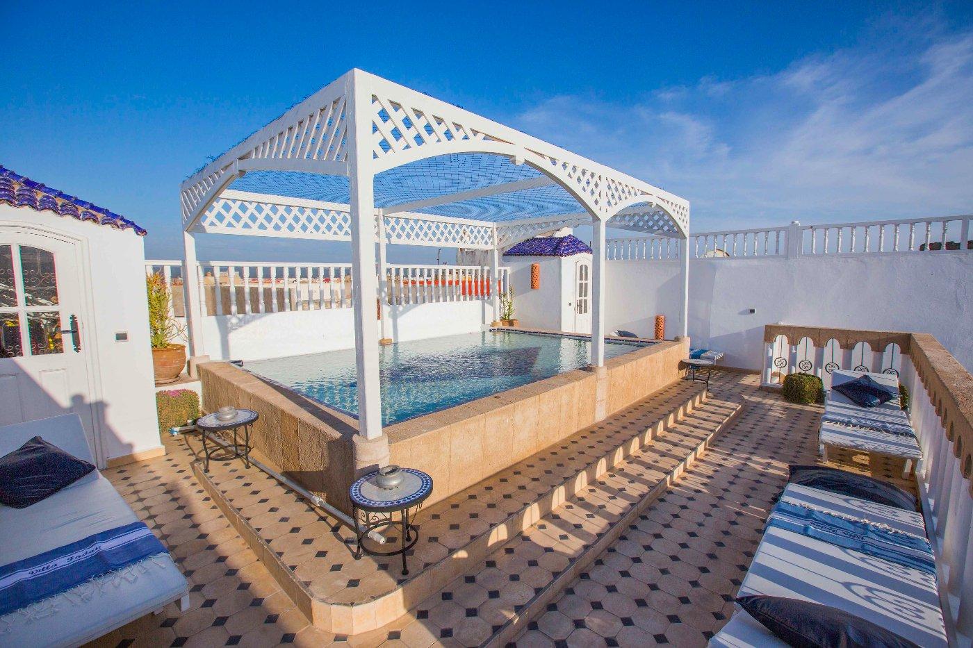 Riad en location avec piscine karimo immobilier essaouira - Location villa piscine essaouira ...