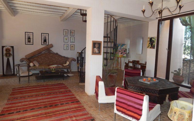 Maison de campagne en vente sur la route de Marrakech