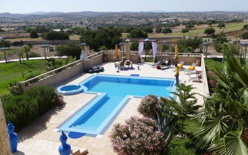 Belle villa à la campagne avec piscine et une vue exceptionnelle